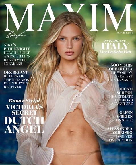 Maxim Cover - 10/1/2016