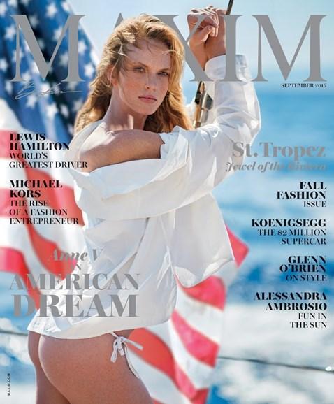 Maxim Cover - 9/1/2016