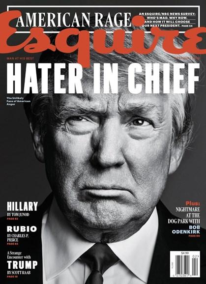 Esquire Cover - 2/1/2016