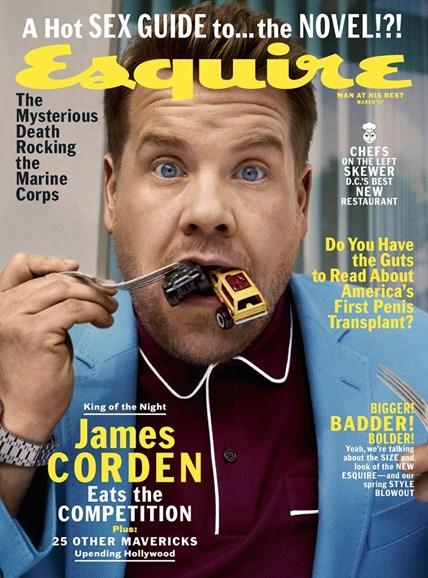 Esquire Cover - 3/1/2017