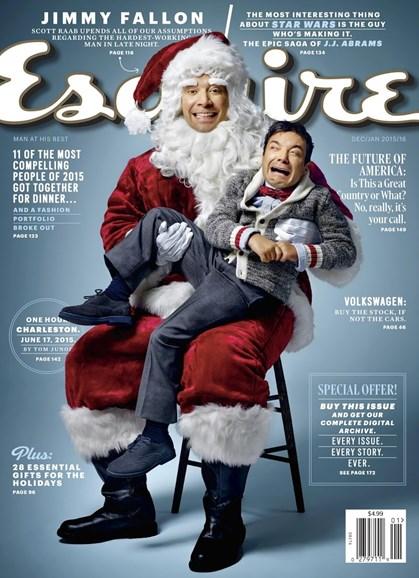 Esquire Cover - 12/1/2015