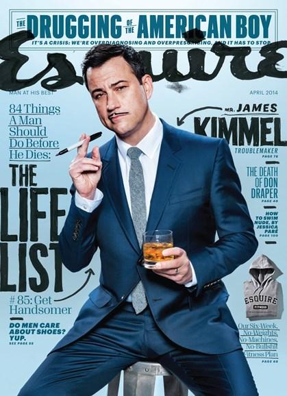 Esquire Cover - 4/1/2014