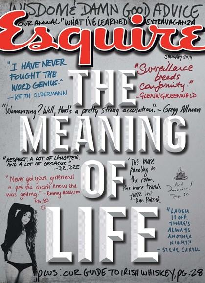 Esquire Cover - 1/1/2014
