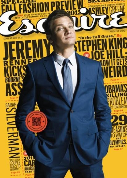 Esquire Cover - 8/1/2012