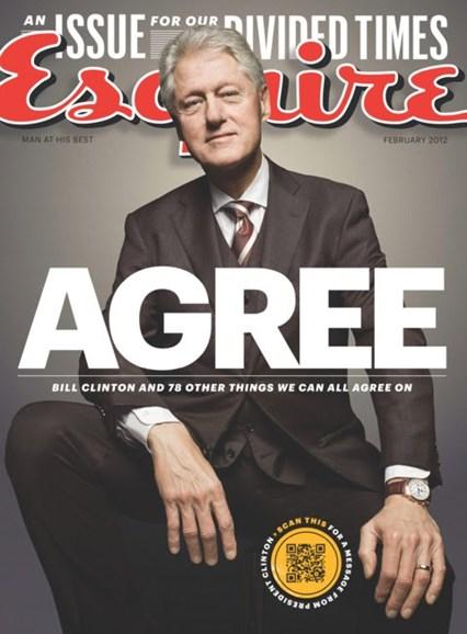 Esquire Cover - 2/1/2012