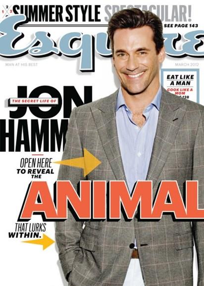 Esquire Cover - 3/1/2012