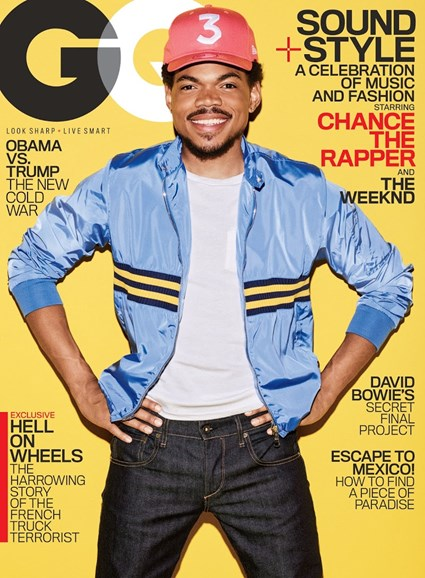 Gentlemen's Quarterly - GQ Cover - 2/1/2017