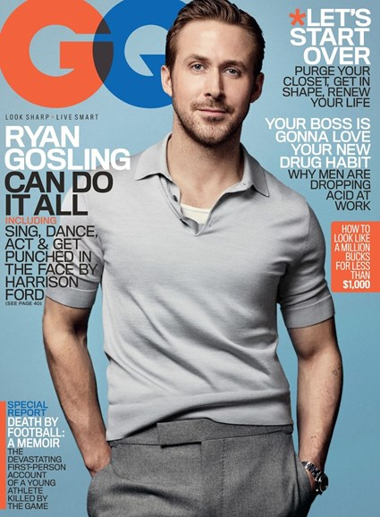 Gentlemen's Quarterly - GQ Cover - 1/1/2017