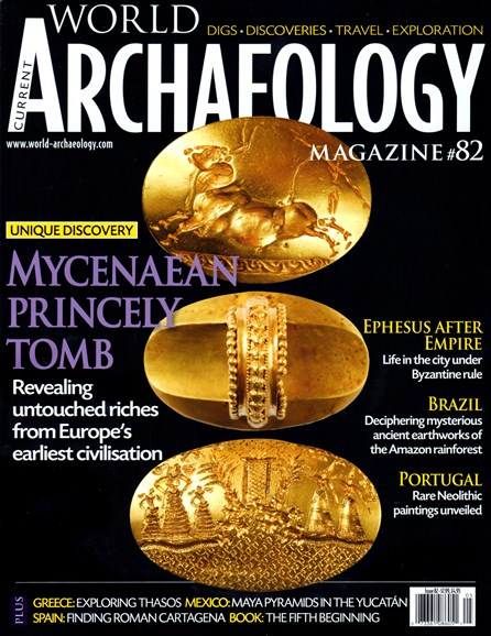 Current World Archaeology Cover - 4/1/2017