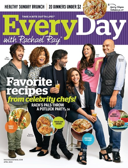 Rachael Ray Every Day Cover - 4/1/2015