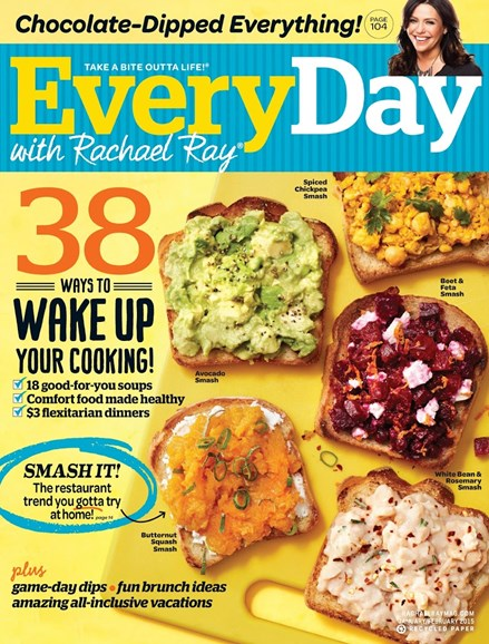 Rachael Ray Every Day Cover - 1/1/2015