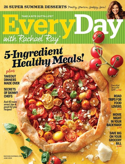 Rachael Ray Every Day Cover - 6/1/2015