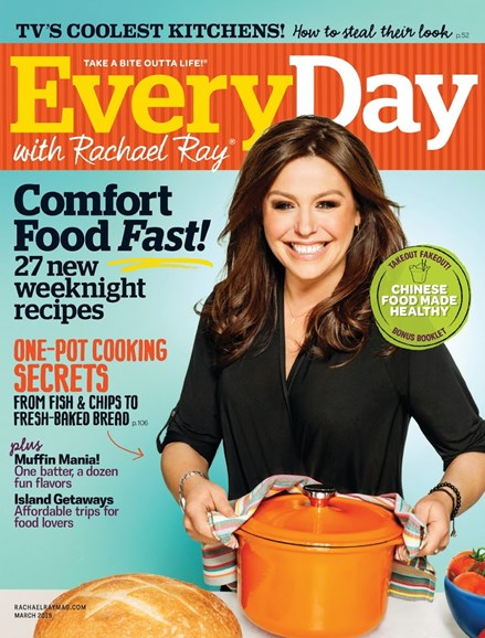 Rachael Ray Every Day Cover - 3/1/2015
