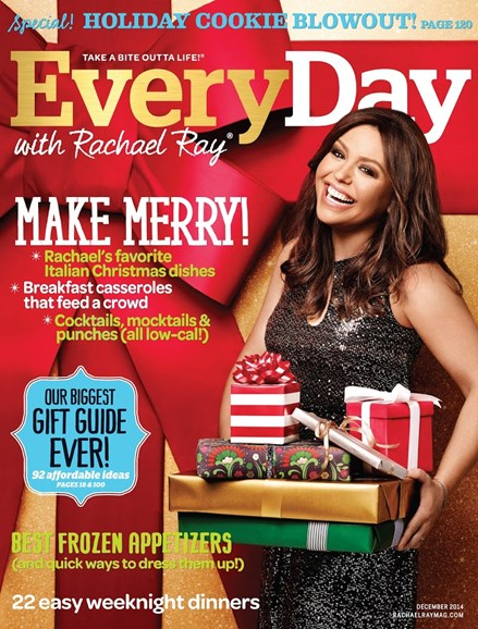 Rachael Ray Every Day Cover - 12/1/2014