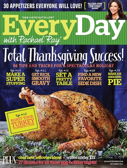 Rachael Ray Every Day Cover - 11/1/2014