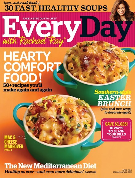 Rachael Ray Every Day Cover - 4/1/2014