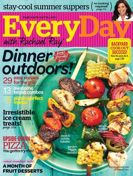 Rachael Ray Every Day Cover - 7/1/2014