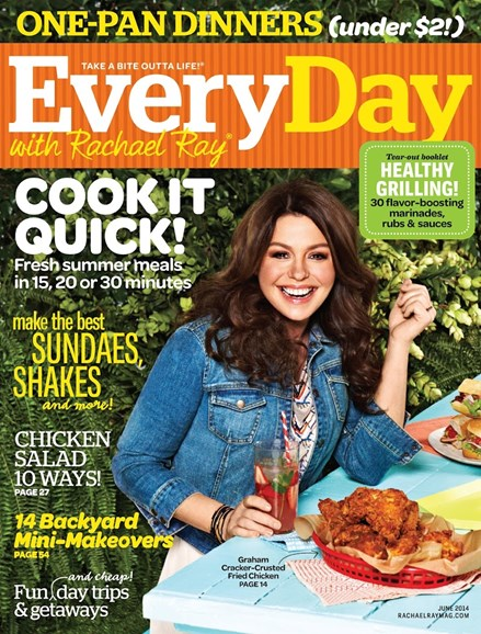 Rachael Ray Every Day Cover - 6/1/2014