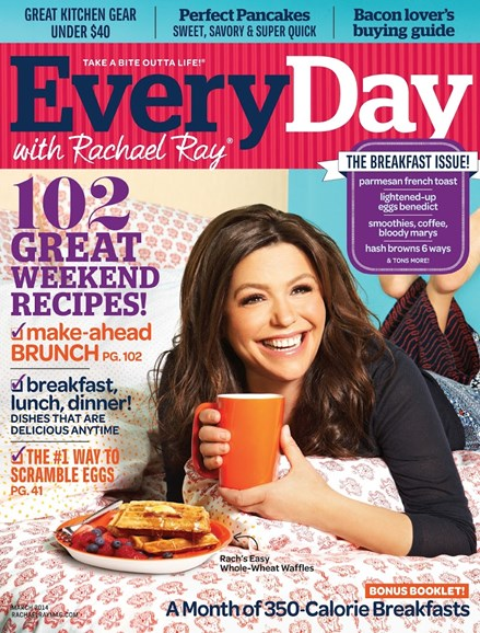 Rachael Ray Every Day Cover - 3/1/2014