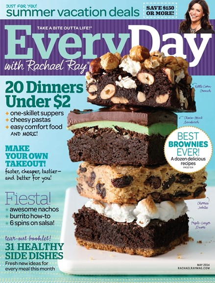 Rachael Ray Every Day Cover - 5/1/2014