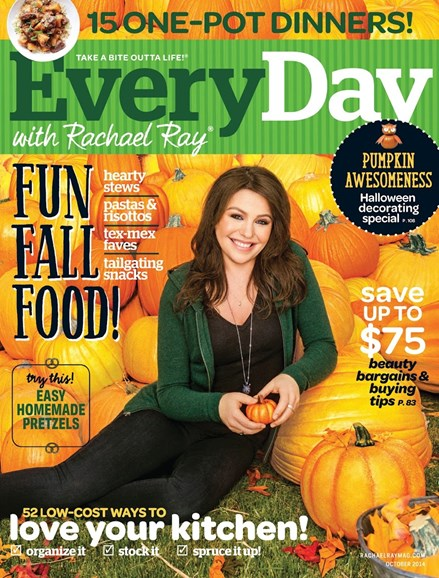 Rachael Ray Every Day Cover - 10/1/2014