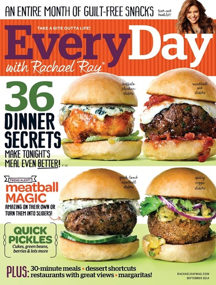 Rachael Ray Every Day Cover - 9/1/2014