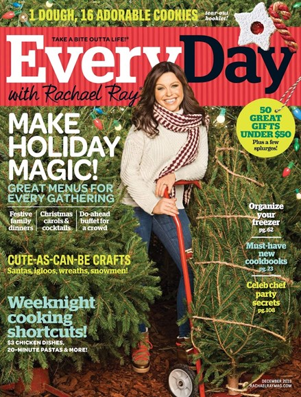 Rachael Ray Every Day Cover - 12/1/2013