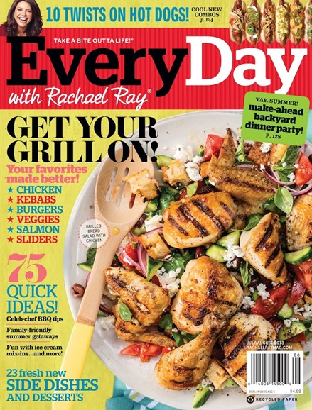 Rachael Ray Every Day Cover - 7/1/2013