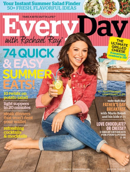 Rachael Ray Every Day Cover - 6/1/2013