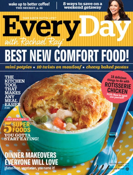 Rachael Ray Every Day Cover - 3/1/2013