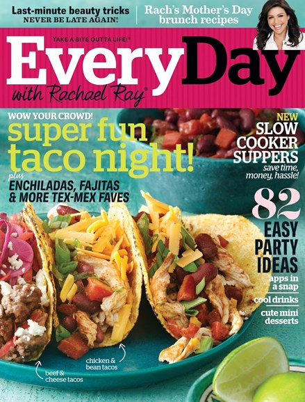 Rachael Ray Every Day Cover - 5/1/2013