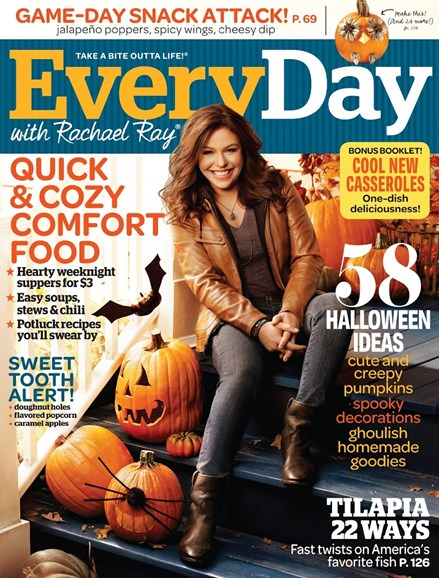 Rachael Ray Every Day Cover - 10/1/2013