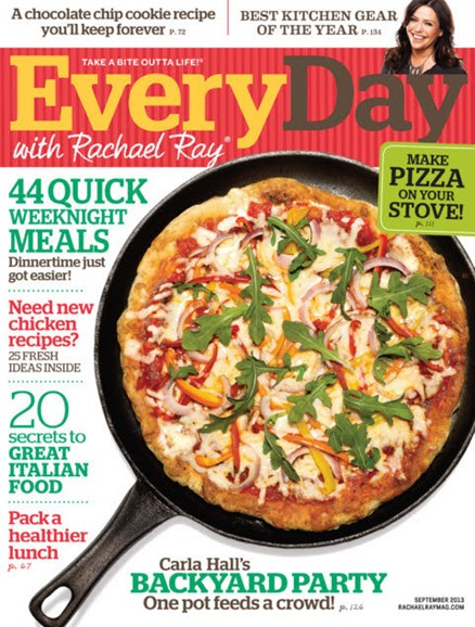 Rachael Ray Every Day Cover - 9/1/2013