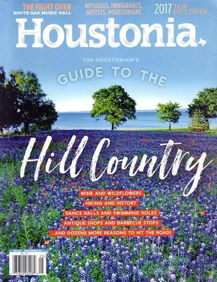 Houstonia Cover - 5/1/2017