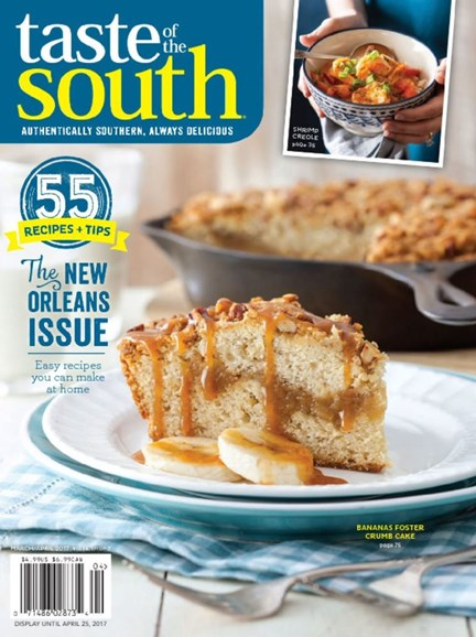 Taste of the South Cover - 3/1/2017
