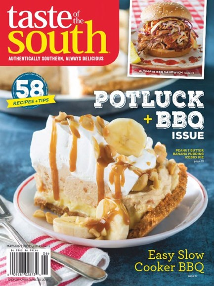 Taste of the South Cover - 5/1/2017