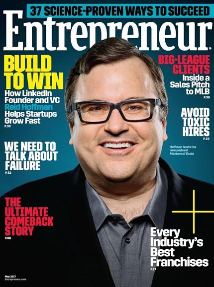 Entrepreneur Cover - 5/1/2017