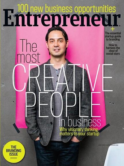 Entrepreneur Cover - 4/1/2015