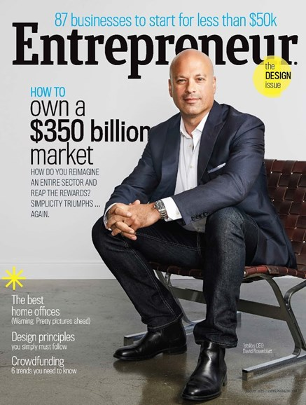 Entrepreneur Cover - 8/1/2015