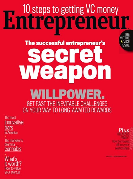 Entrepreneur Cover - 7/1/2015