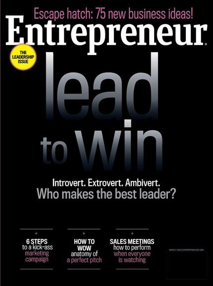 Entrepreneur Cover - 3/1/2015