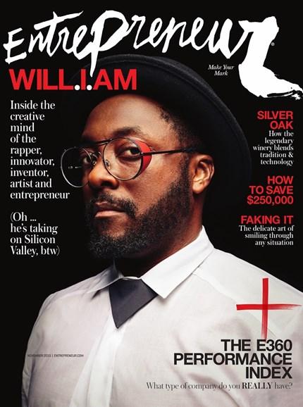 Entrepreneur Cover - 11/1/2015