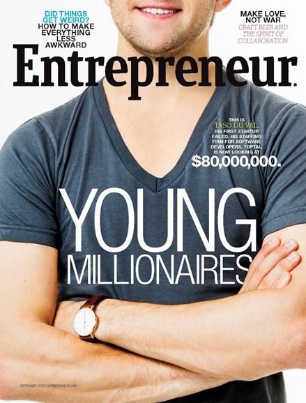 Entrepreneur Cover - 9/1/2015