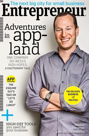 Entrepreneur Cover - 8/1/2012