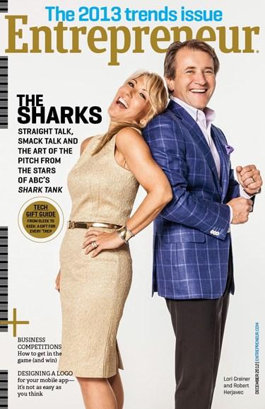 Entrepreneur Cover - 12/1/2012