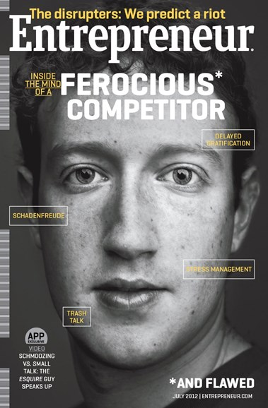 Entrepreneur Cover - 7/1/2012
