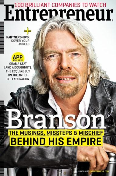 Entrepreneur Cover - 6/1/2012