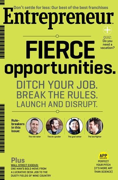 Entrepreneur Cover - 5/1/2012