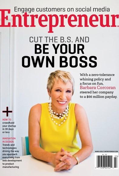 Entrepreneur Cover - 3/1/2012