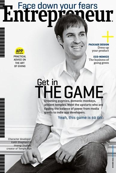 Entrepreneur Cover - 11/1/2012